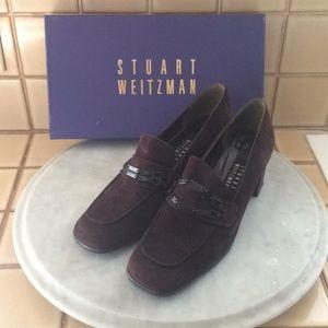 Shoes - Stuart Weitzman Suede Brown Winter heels